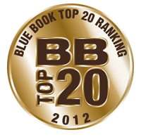 Blue Book 2012 Award